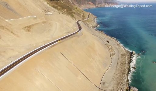 WOW: Drone video of new Highway 1 south of Big Sur