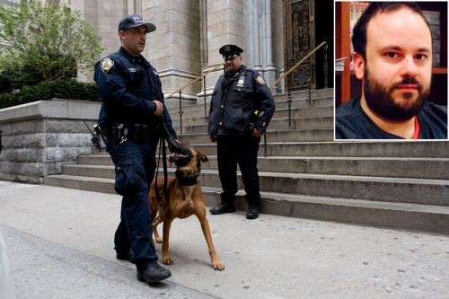 St. Patrick's Cathedral gasoline suspect to be fired from Lehman College job