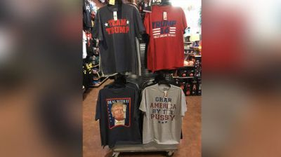 'Grab America By the P***y' T-shirts sell out, protest planned