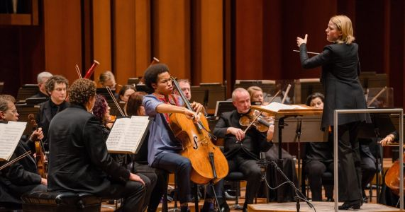 Incandescent talent of cellist Sheku Kanneh-Mason and conductor Ruth Reinhardt shine with Seattle Symphony