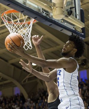 No. 5 Duke rolls past Pittsburgh 81-54 for 4th straight win