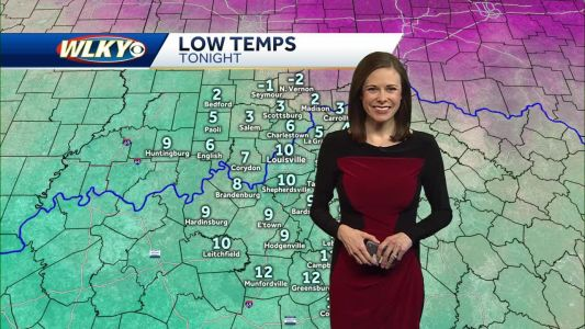 WLKY Meteorologist Tiffany Savona With Your Monday Forecast