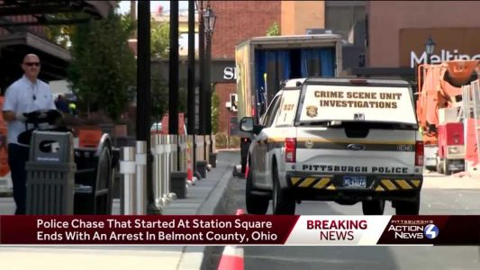 Police: High-speed chase in Pittsburgh continues into West Virginia and Ohio