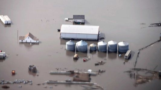 The Midwest flooding has killed livestock, ruined harvests and has farmers worried for their future