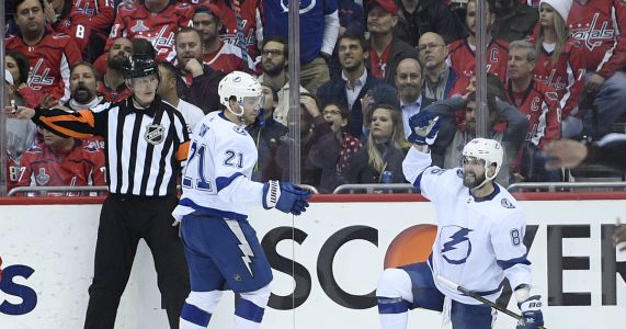 Vasilevskiy makes 54 saves, Lightning beat Capitals in OT