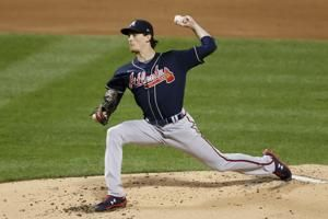 Braves' Fried leave final start after tweaking ankle on bunt
