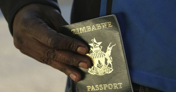 'We are trapped': Zimbabwe's economic crunch hits passports