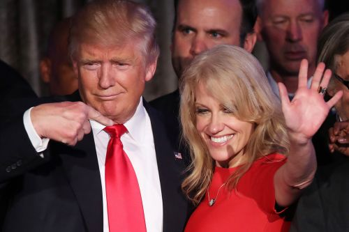 Aides struggle to see strategy in Trump's Conway, McCain fights