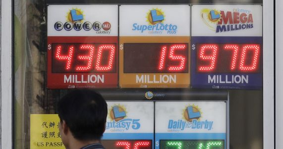 Worsening odds lead to bigger lottery jackpots
