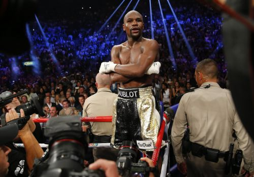 Floyd Mayweather says he's fighting Khabib Nurmagomedov - and he called former opponent Conor McGregor his 'leftovers'