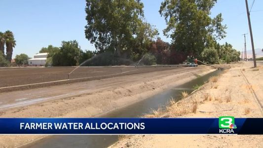 Feds announce water allocation plans for San Joaquin Valley