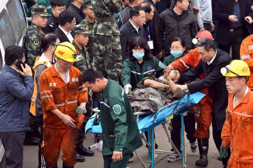 Coal mine accident in China kills 2 people, leaves 20 trapped