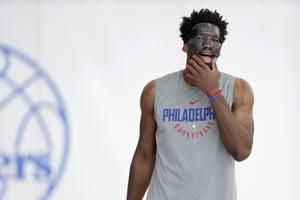 76ers center Joel Embiid now probable for Game 3 versus Heat