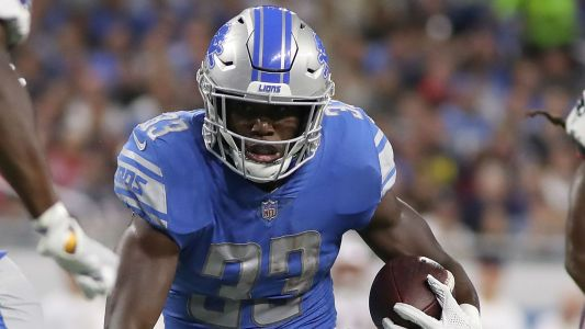 Kerryon Johnson becomes first Lions 100-yard rusher since 2013