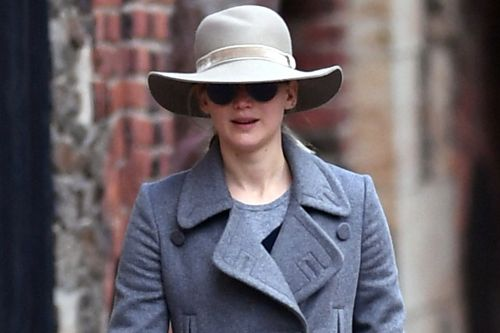J.Law keeps a low profile in NYC after Aronofsky breakup