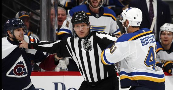 Allen makes 32 saves, Blues top Avs 3-0 for 9th straight win
