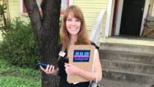 Julie Oliver Was A Homeless, Pregnant Teen. Now She's Running For Congress In Texas