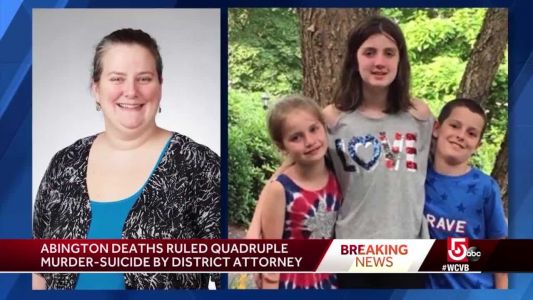 Abington father killed three children and wife, says chief medical examiner
