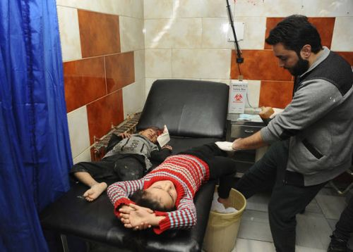 As deadly shells fall, fear spreads anew in Syrian capital
