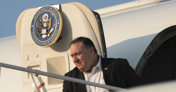 Pompeo travels to Mexico to meet new leftist president-elect