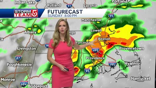 Video- A Threat of Storms Sunday Evening