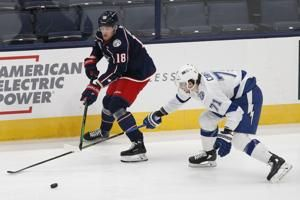 Blue Jackets deal unhappy Dubois to Jets for Laine, Roslovic