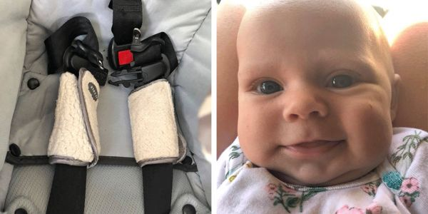Mom's viral post highlights the possible dangers of car seat accessories