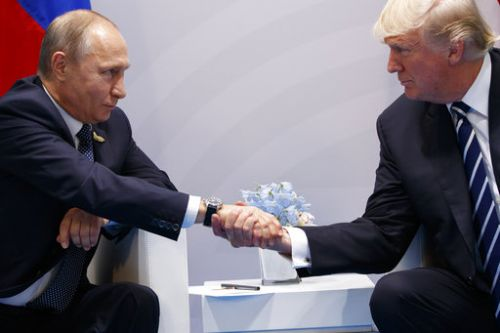 Trump says he wants to meet with Russia's Putin soon, discuss 'arms race'
