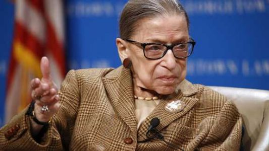 Supreme Court says Justice Ruth Bader Ginsburg has died at the age of 87