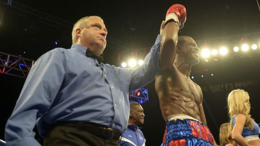 Jamel Herring couldn't have picked a better day to win the WBO junior lightweight title