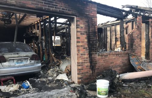 Clarksville man admits to burning his family's house down