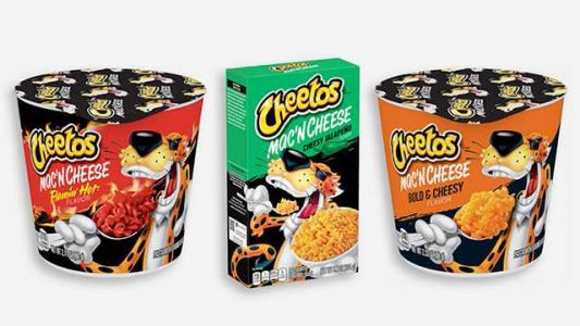 3 flavors of Cheetos-branded macaroni and cheese coming to stores soon