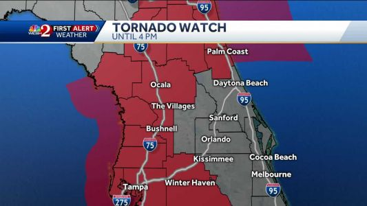 Tracking storms in Central Florida