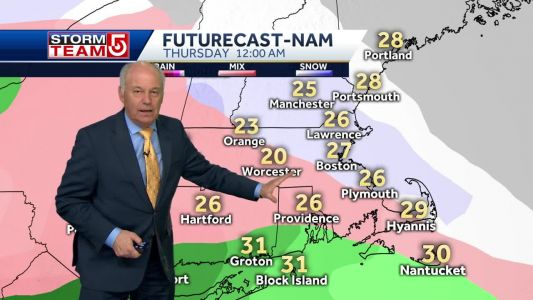 Video: Snow should switch to sleet, freezing rain overnight