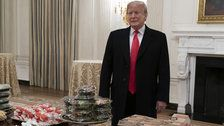 Twitter Users Can't Agree If Serving Fast Food At The White House Is A Good Thing