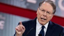 NRA Head: 'Completely Ridiculous' To Think More Guns Would Make Schools Less Safe