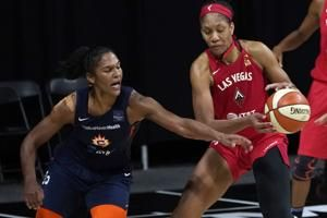 Alyssa Thomas returns from injury to lead Sun past Aces