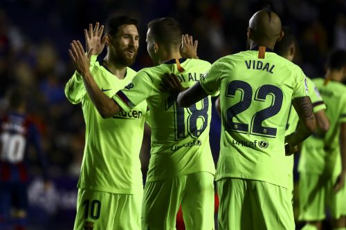 3 goals in 17 minutes, 2 assists, and pure artistry on the pitch: Lionel Messi dominates yet again as Barcelona puts Levante to the sword