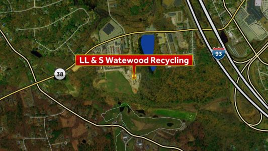 Crews respond to fire at Salem recycling plant