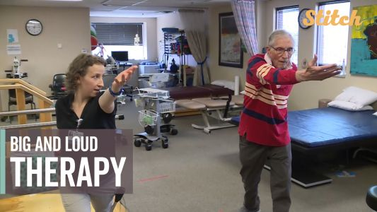 Hospital uses special therapy to help patients with Parkinson's disease