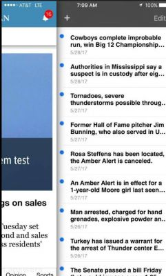 Inbox app notifications are invaluable for subscribers on The Oklahoman's app
