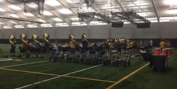 Hawkeye Marching Band getting ready for football season with new director