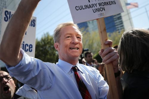 Steyer will return to debate stage in South Carolina