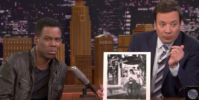Watch Chris Rock and Jimmy Fallon Review Weird Songs Found on the Internet