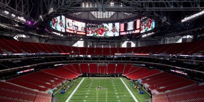 The Falcons new stadium reportedly has a fast food chain that will be impossible for Sunday football fans to enjoy - Chick-fil-A