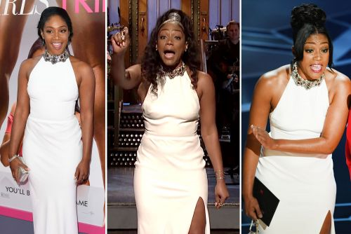 Tiffany Haddish spent $4K on that McQueen dress and cried