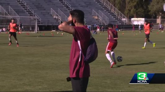 Special soccer match brings NorCal refugees together