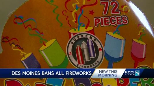 Reminder: You can buy fireworks in Des Moines, but you can't set them off