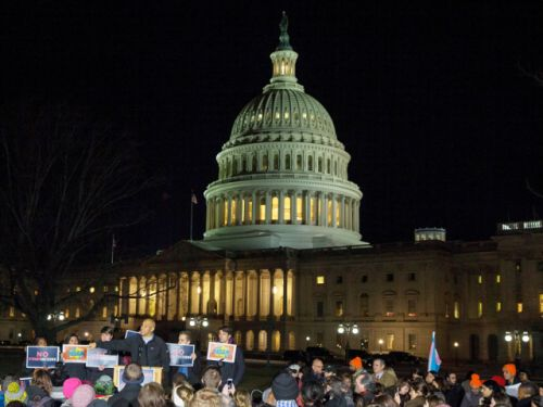 Republicans and Democrats blame each other as U.S. government shuts down
