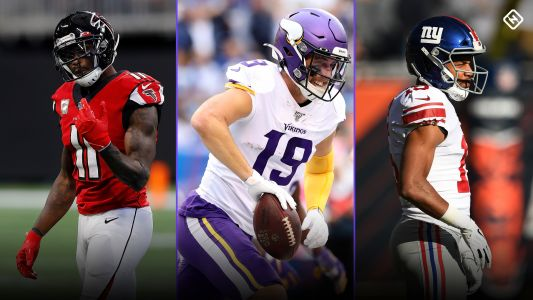 Fantasy Football Injury Updates: Julio Jones, Adam Thielen, Golden Tate, more impact Week 14 WR rankings